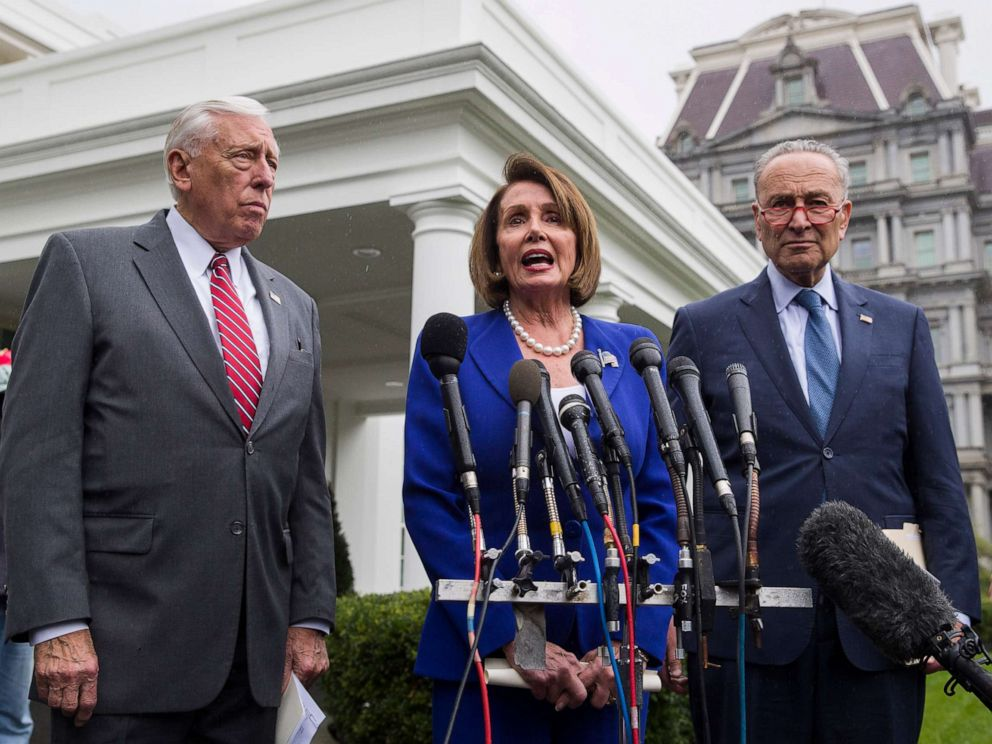 House Speaker Nancy Pelosi Reveals Details on Viral White House 'Meltdown' Photo
