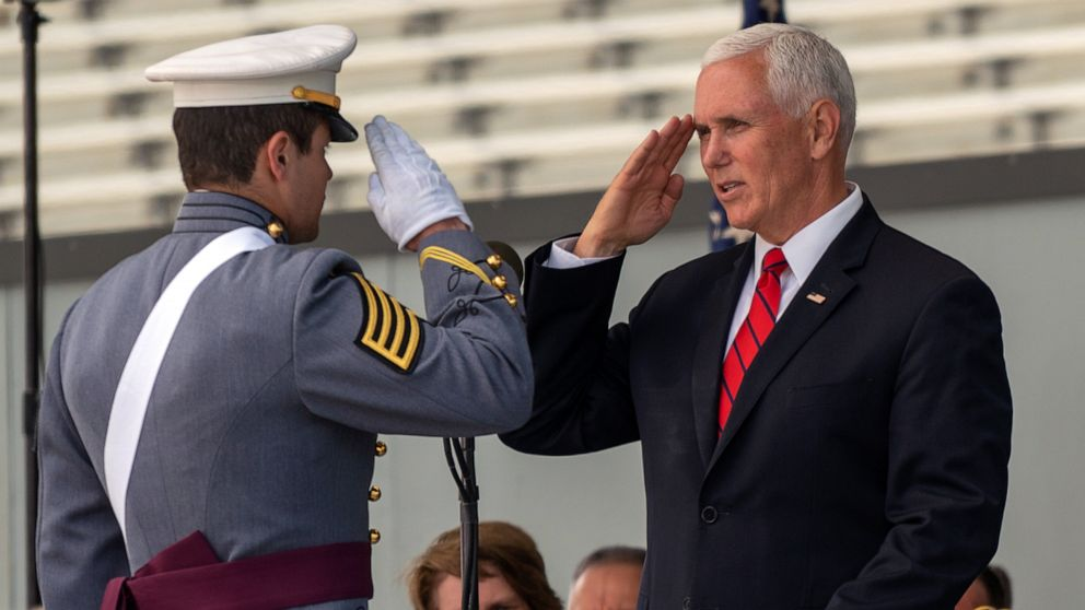 Pence tells West Point grads they should expect to see combat