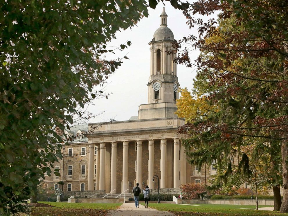 PHOTO: Old Main on the Penn State University main campus in State College, Pa., Nov. 9, 2017.