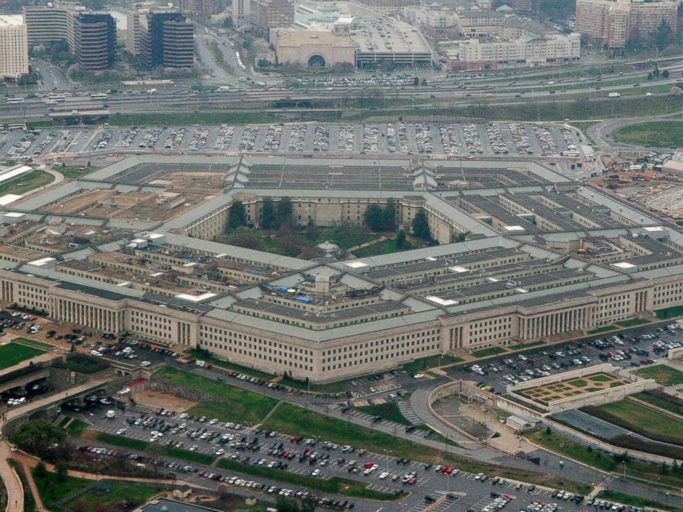 PHOTO: This March 27, 2008, file photo, shows the Pentagon in Washington.