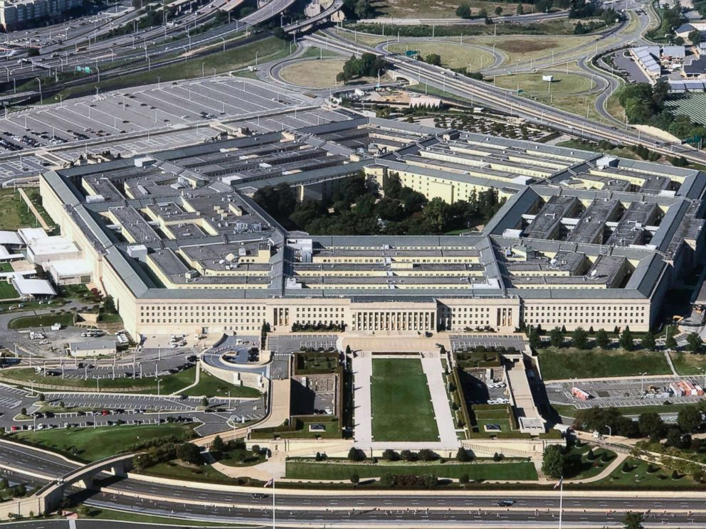 PHOTO: An aerial view of the Pentagon building, Sept. 24, 2017.