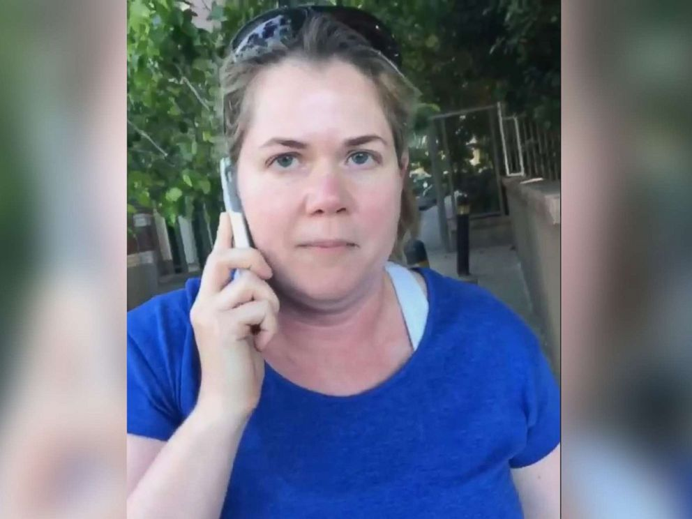 PHOTO: Alison Ettel apologized after a video of her calling the police on a young girl selling bottled water in San Francisco went viral.