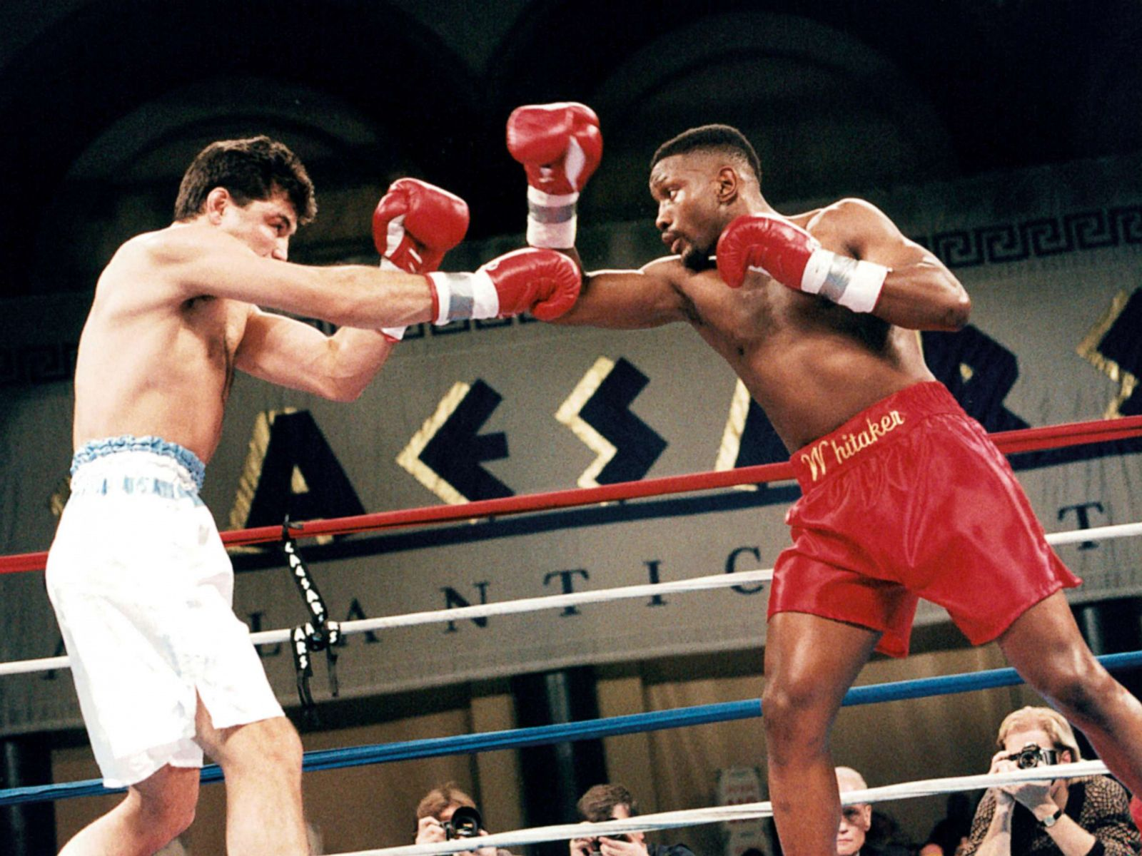 Former boxing champ Pernell 'Sweet Pea' Whitaker fatally