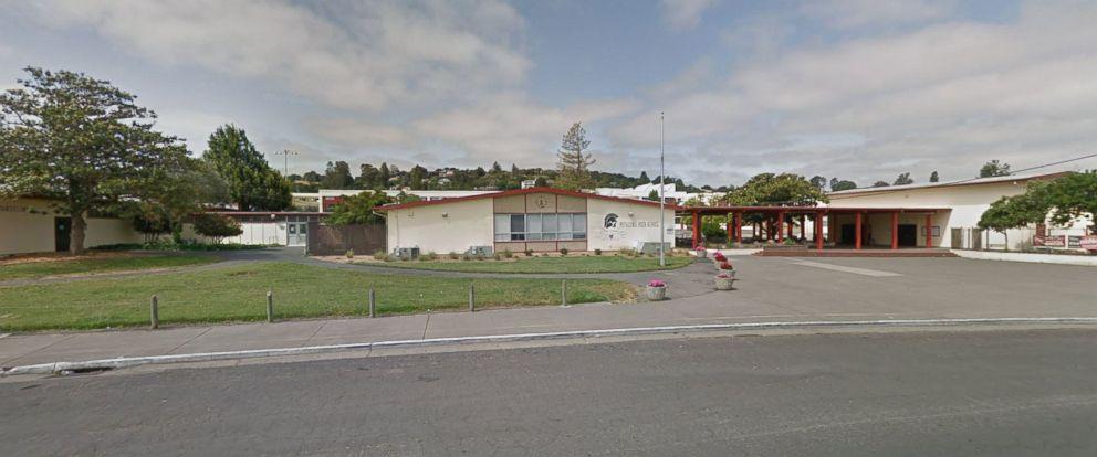PHOTO: Petaluma High School at 198 Fair Street in Petaluma, Calif. as seen from Google Street View in May 2017.