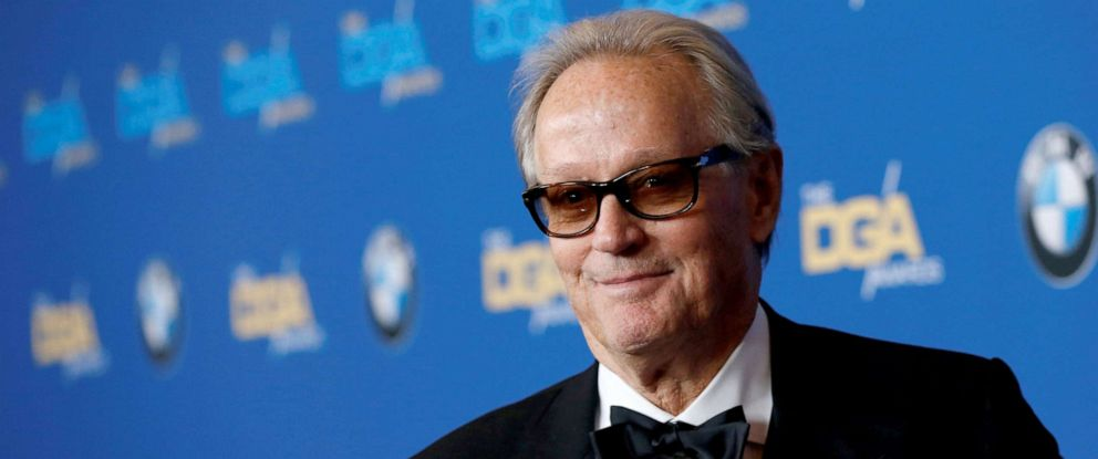 PHOTO: Actor Peter Fonda poses at the 70th Annual DGA Awards in Beverly Hills, California, Feb. 3, 2018.