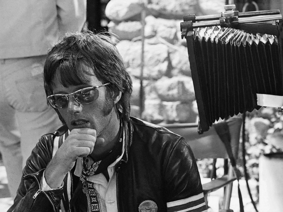 PHOTO: In this June 28, 1969, file photo, actor Peter Fonda says that he speaks only for himself during an interview in Los Angeles.
