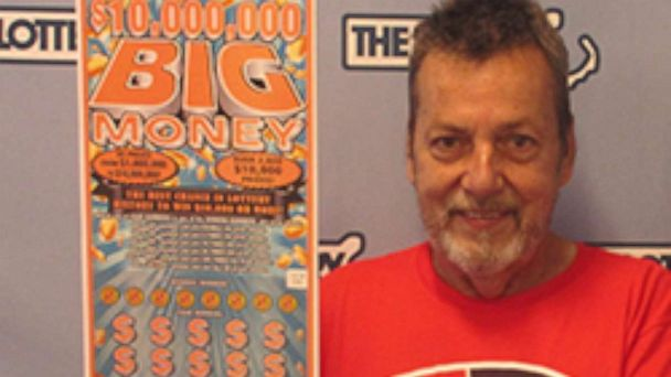 Detour leads Massachusetts man, Peter Levesque, to a $10 million lottery win