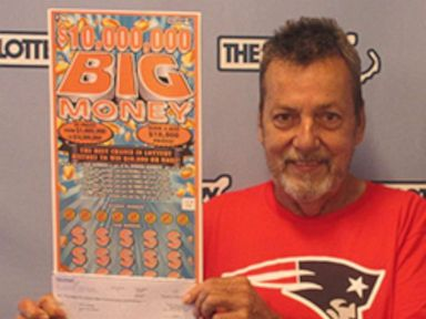 PHOTO: Peter Levesque won a $10 million dollar prize in the Massachusetts state lottery.