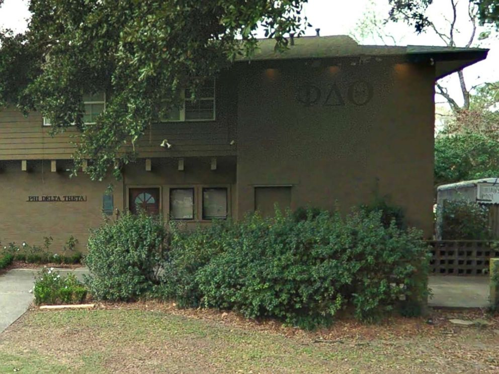 PHOTO: Phi Delta Theta fraternity at Louisiana State is seen in an undated Google Maps photo.