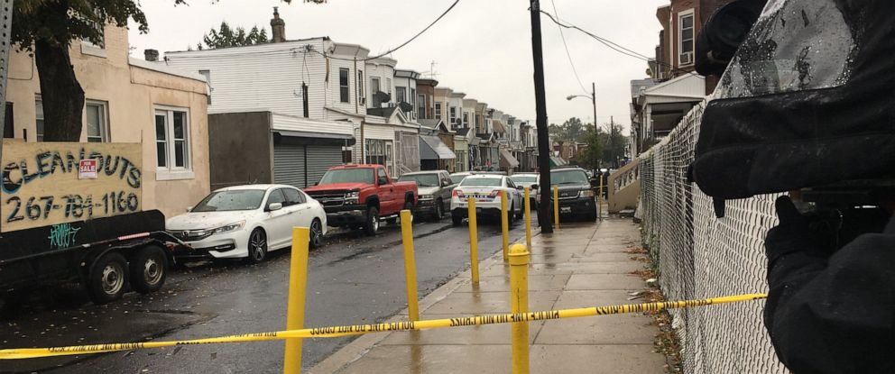 PHOTO: A 2-year-old child was killed in a shooting in North Philadelphia on Sunday, Oct. 20, 2019.