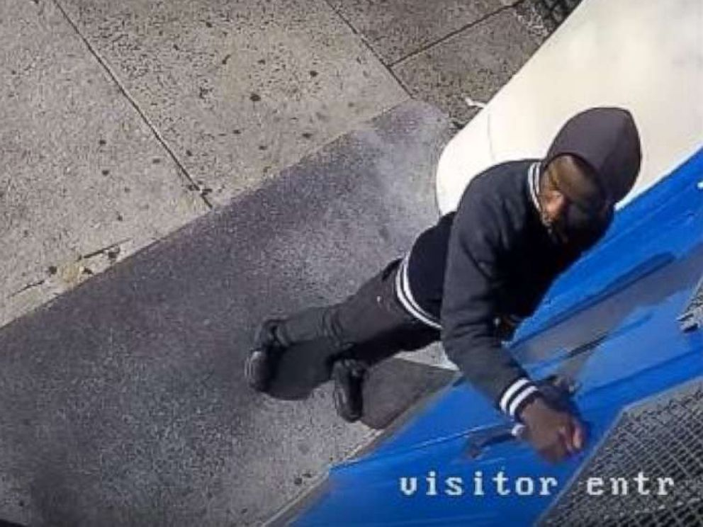 PHOTO: A teenager is wanted for bringing a gun to the entrance of Frederick Douglass Mastery Charter School in Philadelphia, Feb. 15, 2018.