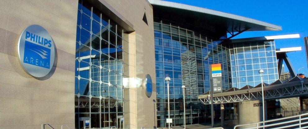 PHOTO: The exterior of the Philips Arena in Atlanta, Georgia.