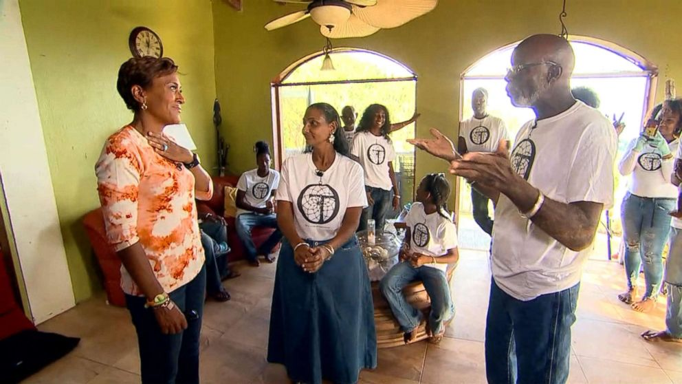 The Phillips family is helping their community after back-to-back hurricanes Irma and Maria barreled through their St. Thomas neighborhood.