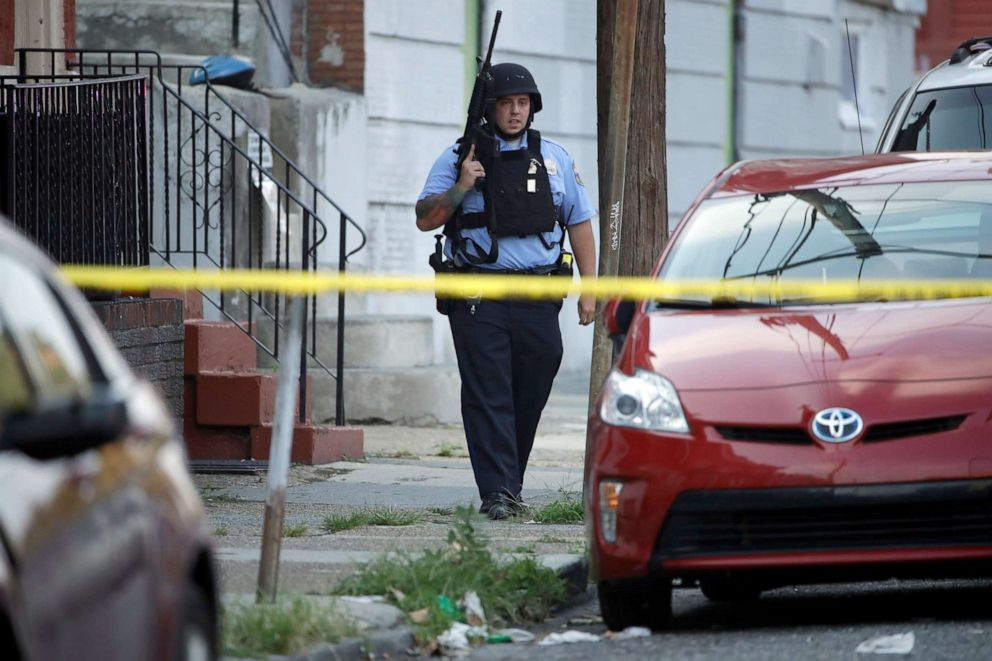 Abc 6 Philly >> Several Officers Injured By Suspect Firing In Shooting In