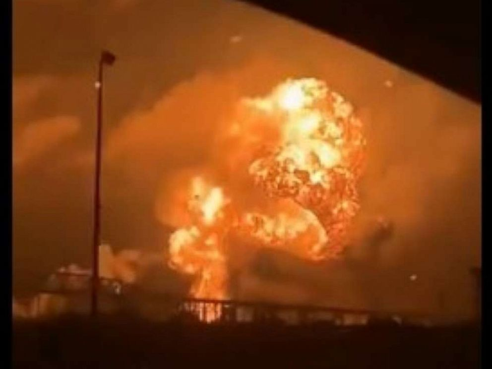 Fire at Philadelphia Oil Refinery Causes Explosion