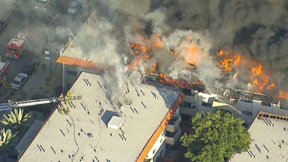 Los Angeles Apartment Complex Fire
