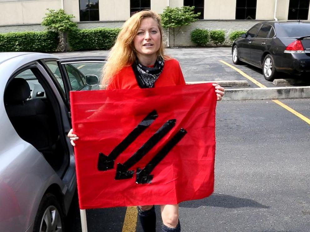 PHOTO: Lacy MacAuley is a prominent antifa movement organizer.