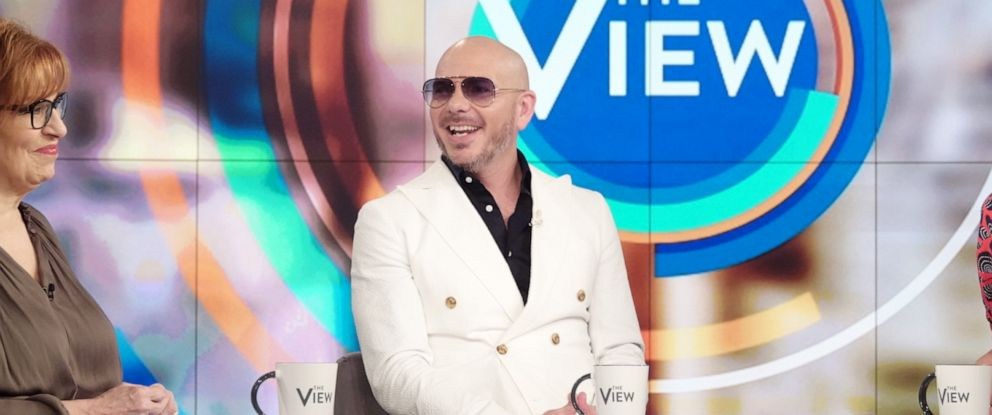 "PHOTO: Pitbull discusses education, his new movie ""The Ugly Dolls,"" and the immigration crisis with ""The View"" on Thursday, April 25, 2019."