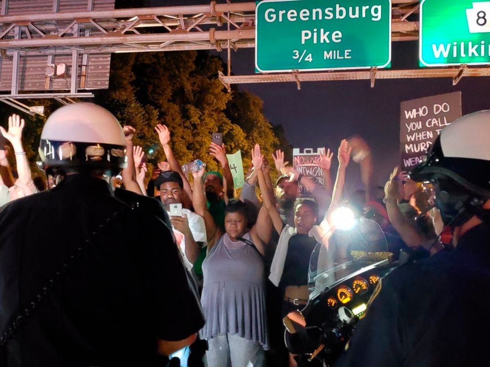 Car Plows Through Crowd Protesting Police Shooting of Antwon Rose, Striking Demonstrator