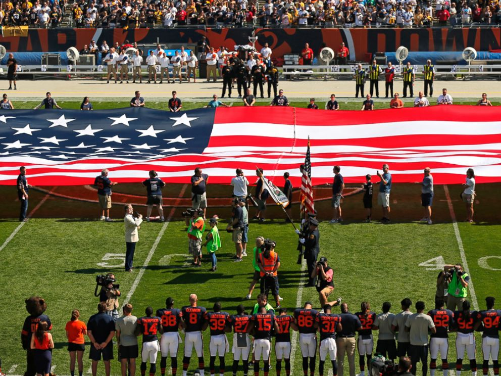 NFL teams respond to Trump with nonparticipation, kneeling in