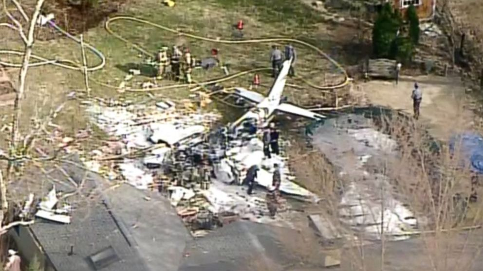 The pilot of a plane that crashed into a Madeira, Ohio home was killed, March 12, 2019.
