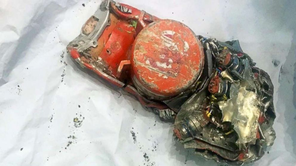 Officials released this photo of the Flight Data Recorder for Ethiopian Airlines flight 302 which crashed on March 10, 2019, killing 157 people.