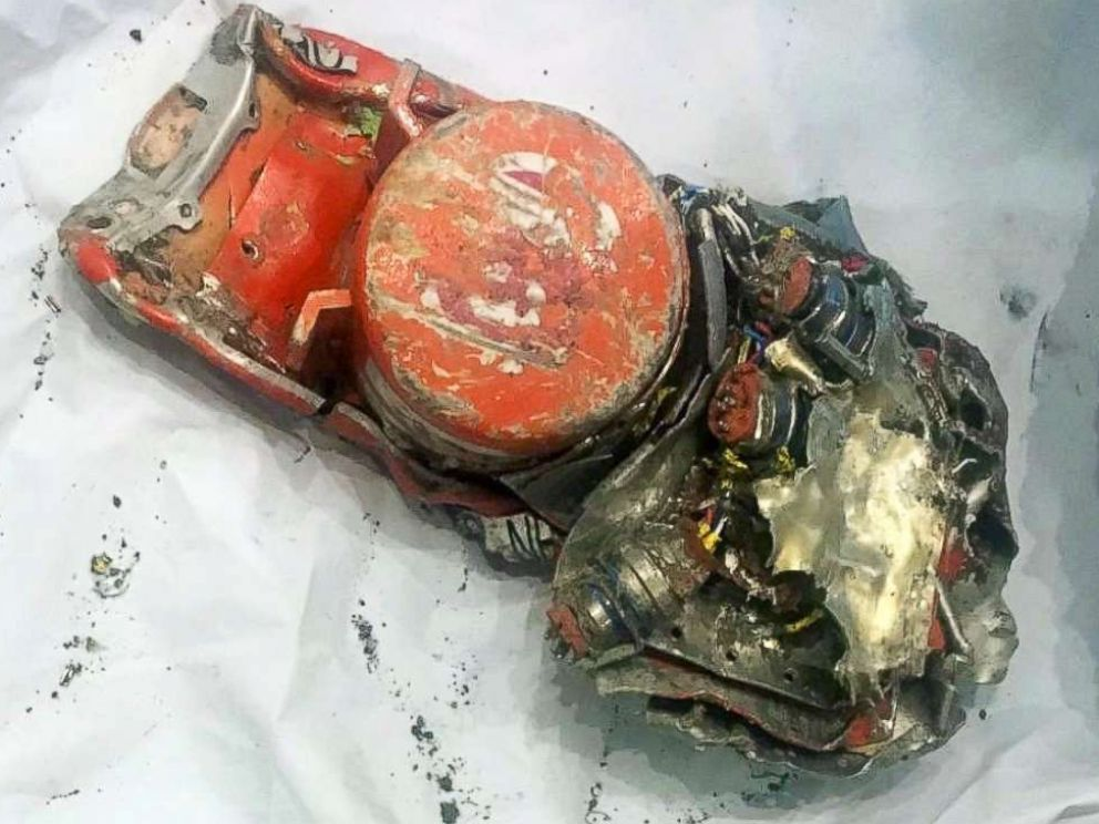 PHOTO: Officials released this photo of the Flight Data Recorder for Ethiopian Airlines flight 302 which crashed on March 10, 2019, killing 157 people.