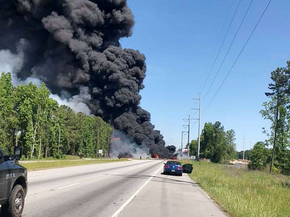At least 5 dead after military plane crash in Savannah, Georgia