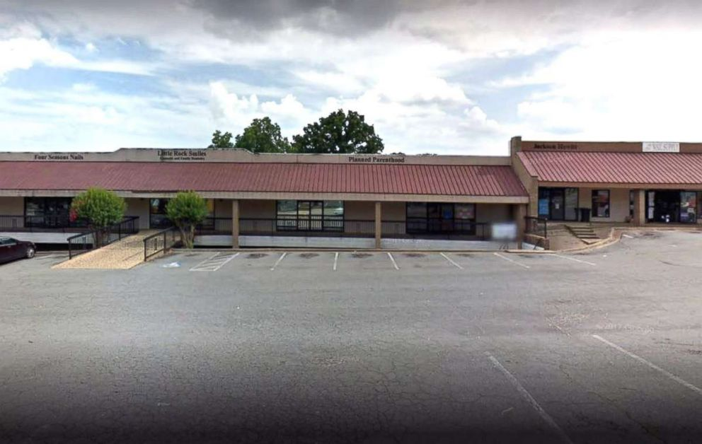 PHOTO: Planned Parenthood clinic in Little Rock Arkansas is seen in this undated Google Maps image.