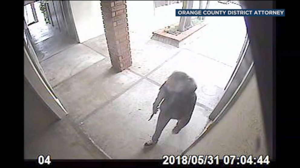 PHOTO: The Orange County District Attorneys Office released body camera footage Thursday from two Fullerton police officers involved in the fatal shooting of Katherine Brazeau in May 2018.