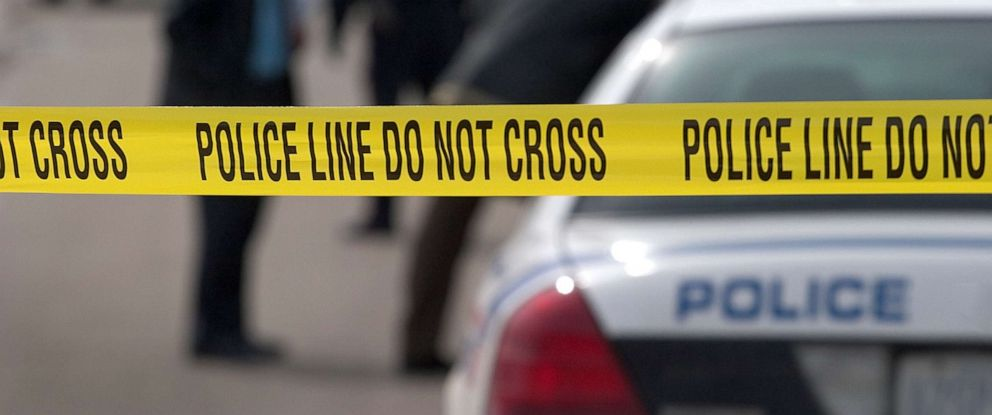 PHOTO: A stock image of police tape in a crime scene.