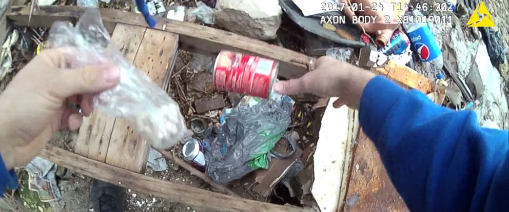 PHOTO: The Maryland Office of the Public Defender alleges that a Baltimore Police officer tampered with evidence by planting what appeared to be drugs.