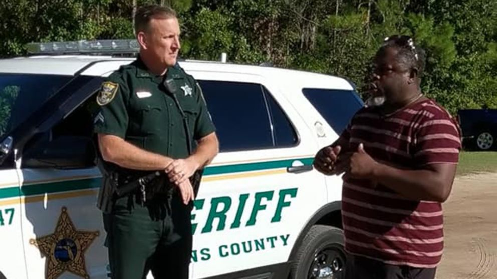 An African American father had sheriff's deputies called on him at a youth soccer game in Ponte Vedra, Fla., after he instructed his son from the sidelines not to argue with the referee over a call, according to cell phone videos and witnesses, Oct. 13, 2018.