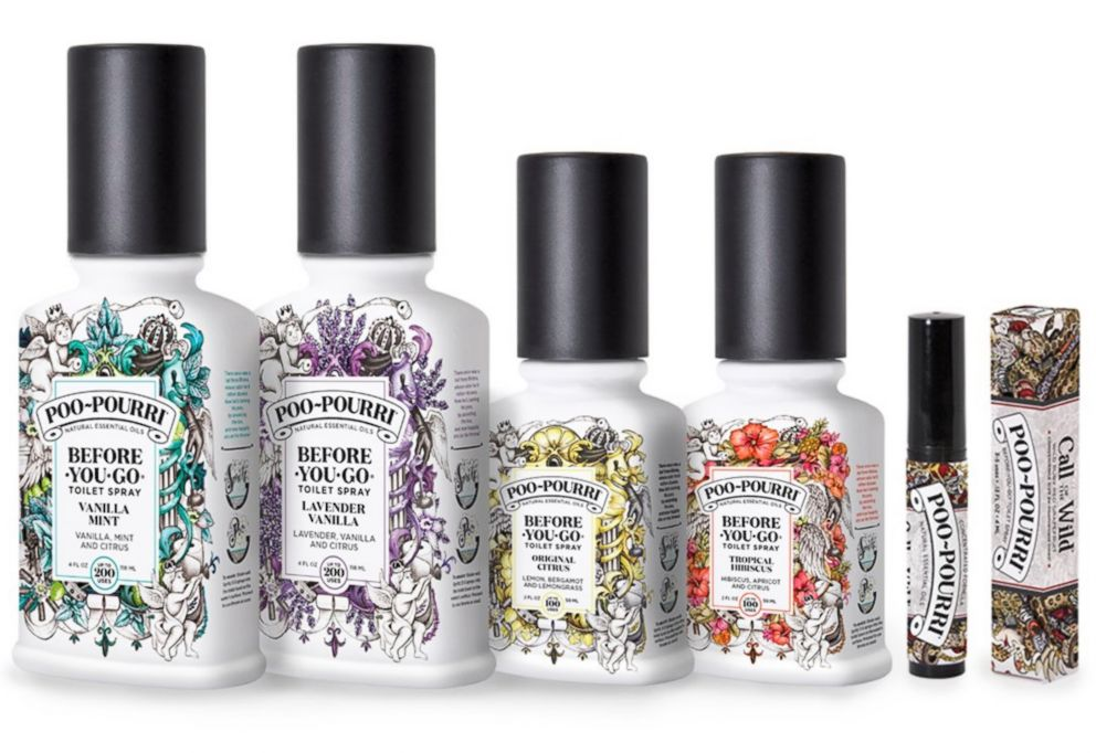 PHOTO: Poo~Pourri products are pictured here.