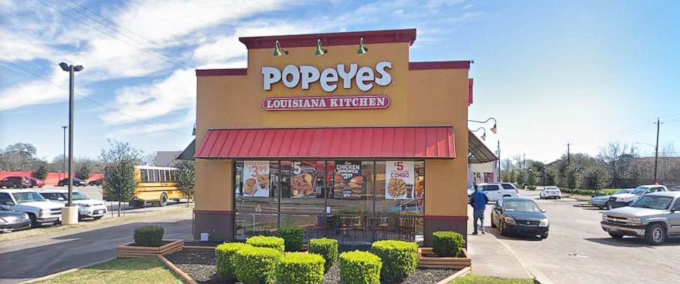 PHOTO: Popeyes Louisiana Kitchen at 7159 Scott Street, Houston, Texas.