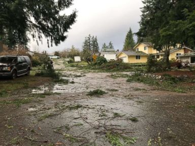 Images, video shows damage from tornado that ripped through Washington state