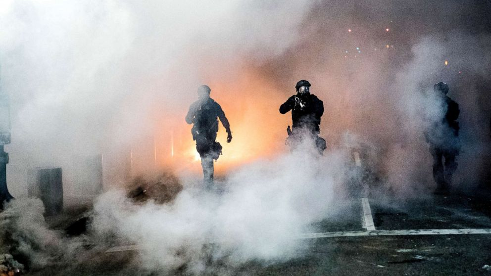 How Portland became nation`s hotbed for clashes between...