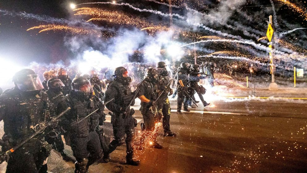 Portland Police Officer Charged With Assault for Hitting Protester With Baton