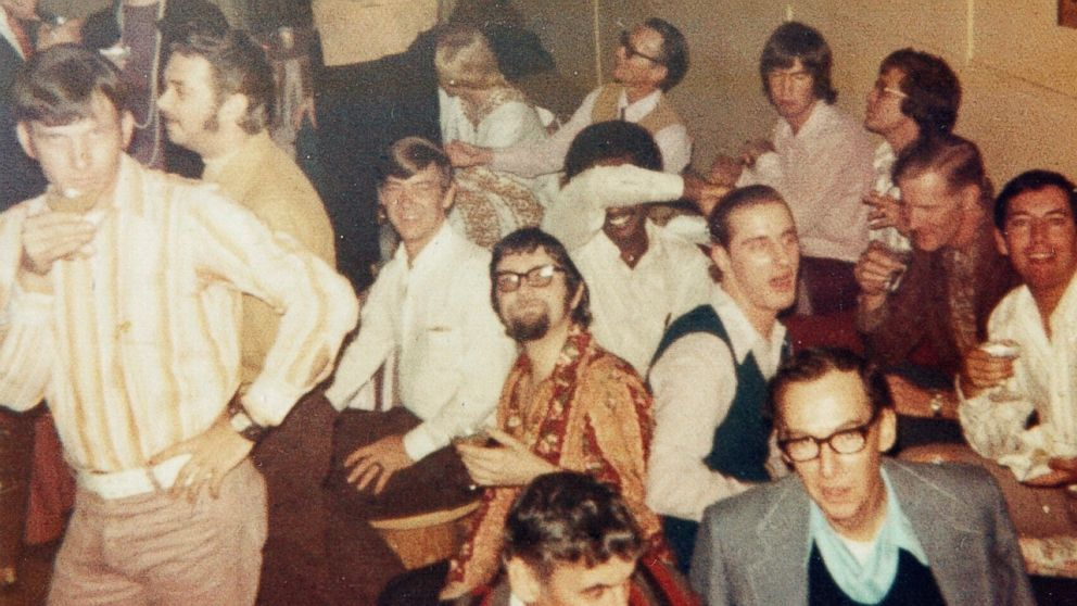 Patrons of the UpStairs Lounge are pictured in an undated handout photo.