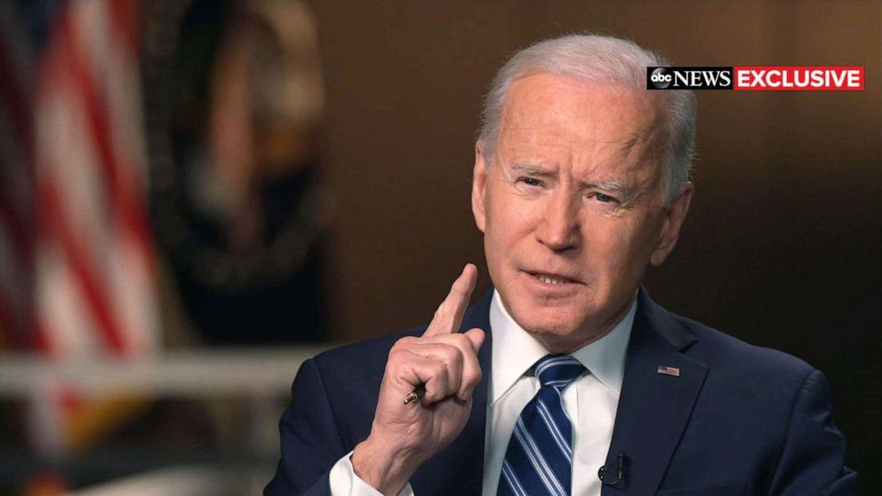 Biden talks Cuomo, Putin, migrants, vaccine in ABC News exclusive interview  - ABC News