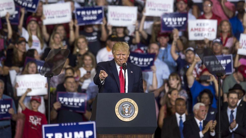 Start Here': Trump rallies base, privacy concerns over FaceApp, Eb