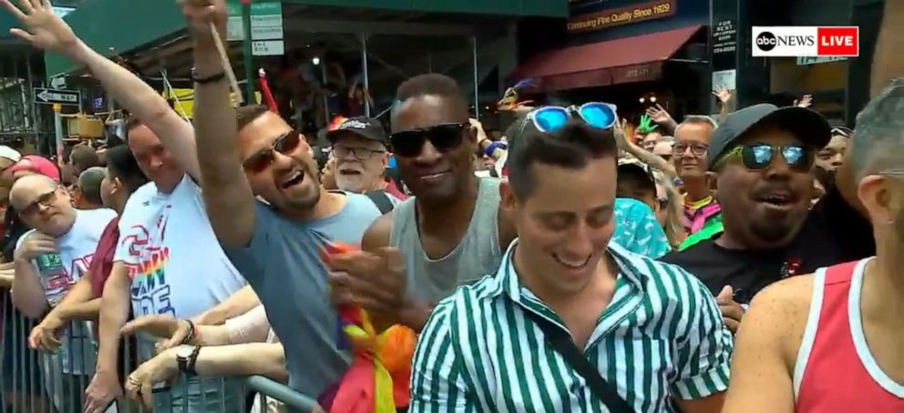PHOTO: Army specialist comes out to the military during #PRIDE on @ABCNewsLive: This is my coming out... Theres no better time to be out in the military than right now.