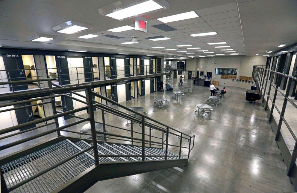 PHOTO: A housing unit in the west section of the State Correctional Institution at Phoenix in Collegeville, Penn., June 1, 2018.