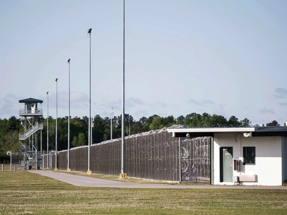 PHOTO: This shows the Lee Correctional Institution, April 16, 2018, in Bishopville, S.C. Multiple inmates were killed and others seriously injured amid fighting between prisoners inside the maximum security prison in South Carolina.