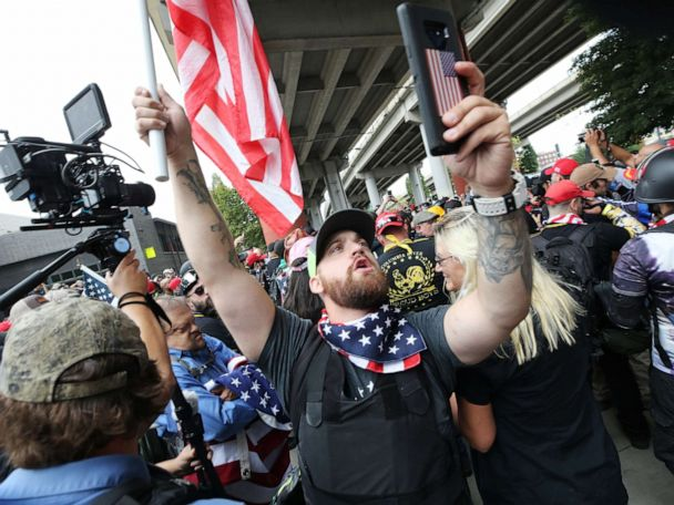 Portland braces for right wing rally, counterprotesters