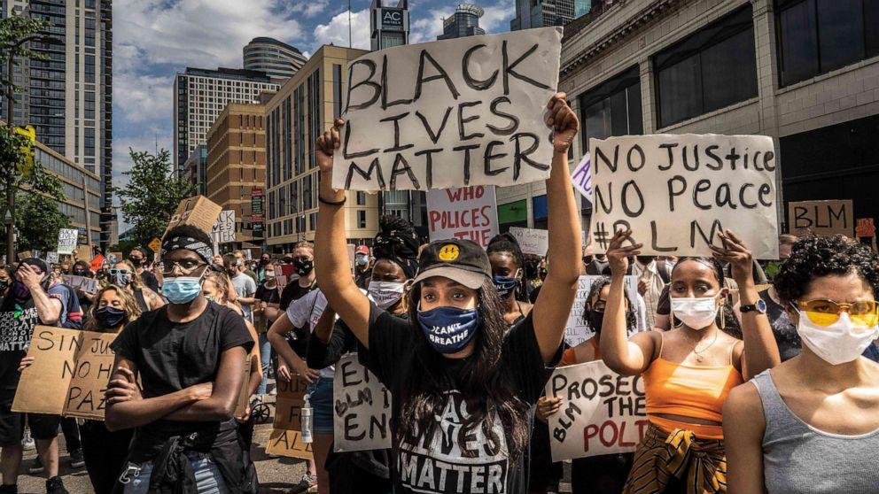 Black Lives Matter Demo Hamburg