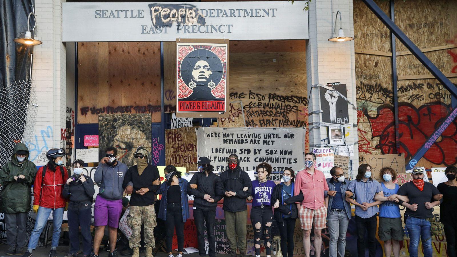 Seattle Will De Escalate And Dismantle Chop Autonomous Zone Mayor Abc News