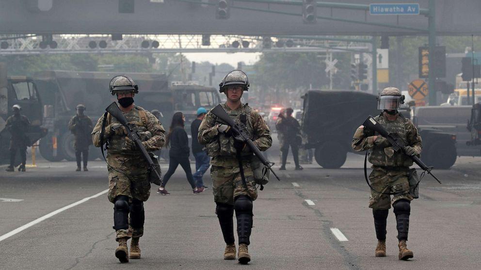 ΗΠΑ - Μινεάπολις - Εθνοφρουρά