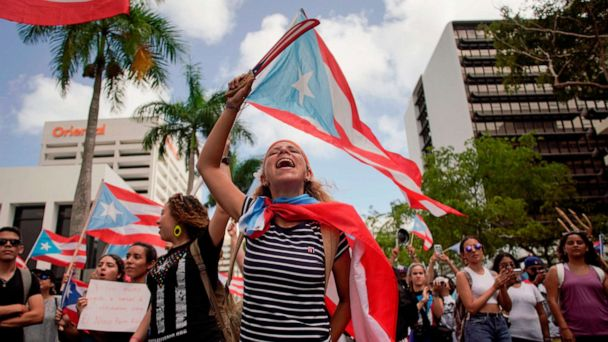 Ahead of Rossello's resignation, protesters in Puerto Rico still fighting for 'sea of change'