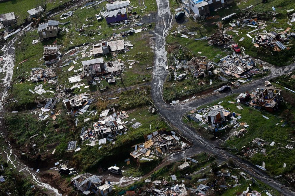 Puerto Rico Raises Hurricane Maria Death Toll to nearly 3,000